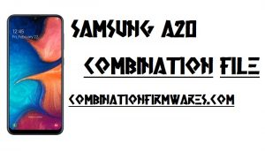 Samsung SM-A205GN Combination File (Firmware ROM)