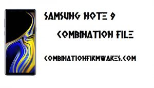 Samsung SM-N960UX Combination File (Firmware ROM)