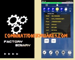 Samsung combination firmware file rom
